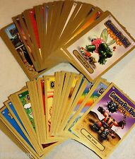 2011 GARBAGE PAIL KIDS FLASHBACK SERIES 3 GOLD CARDS U PICK 1A-80B RARE GPK