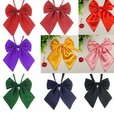 Fashion Women Girls Pre tied Bow Knot Necktie Cravat Casual Party Banquet Bowtie
