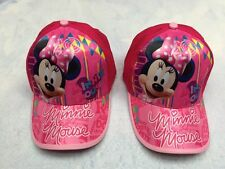Lot Minnie Mouse Children shade Sun peaked cap Baseball cap Hats Party Gifts T16