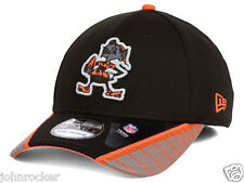 CLEVELAND BROWNS NFL XP NEW ERA 39THIRTY BROWNIE THE ELF FLEXFIT HAT/CAP NWT