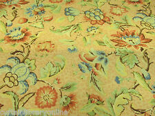 Stokesay Cotton Linen Floral Designer Curtain Fabric By Marvic Textiles - 135 cm
