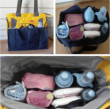 Portable Baby Diaper Nappy Changing Organizer Insert Storage Bag Outdoor Travel