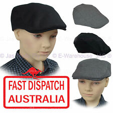 Kid Child Page Boy Baseball Wedding Ivy Gold Flat Newsboy Pageboy Cotton Cap Hat