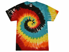 Multi-Color Eclipse, Tie Dye T-Shirts, Youth XS 2-4  to Youth L 14-16, Cotton