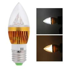NEW E27 6W LED Candle Light Bulb Chandelier Lamp Spotlight High Power AC 85-265V