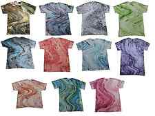 Pick a Multi-Color Marble, Tie Dye T-Shirts, S, M, L, XL, 2X, 3X, Short Sleeve