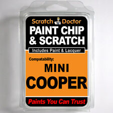MINI COOPER TOUCH UP PAINT Stone Chip Scratch Car Repair Kit . 2008 - 2011