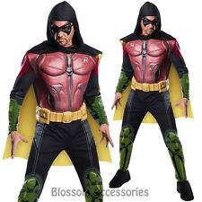 CL250 Mens Robin Muscle Chest Batman Arkham City Villain Costume Superhero Hero