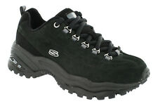 NEW Women's SKECHERS PREMIUM 1718 Black Leather Fashion Casual Athletic Shoes