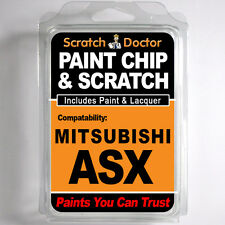 MITSUBISHI ASX TOUCH UP PAINT Stone Chip Scratch Car Repair Kit . 2010 - 2015