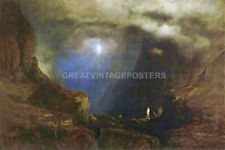 THE VALLEY OF THE SHADOW OF DEATH 1867 ALLEGORY PAINTING BY GEORGE INNESS REPRO