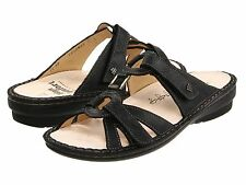 Finn Comfort Womens Shoes Sandal Slide Mule Cebu Black US 7 8 9  Medium $214