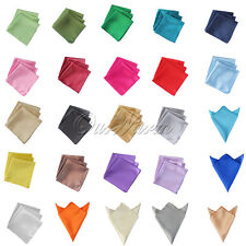 "50 12""Satin Table Napkin or Pocket Handkerchief Square Multi Purpose For Wedding"