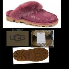UGG Australia Coquette OXBLOOD Leopard  Slippers Sizes: US:9 NEW