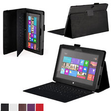 Stand Leather Case Cover For Microsoft Surface 10.6 Windows 8 RT Tablet Stylish