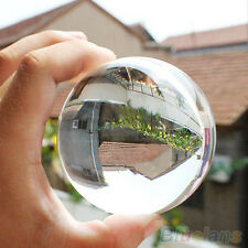 60mm Rare Natural Quartz Crystal Sphere Clear Magic Ball Chakra Healing Gemstone