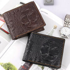Men's Leather Bifold Credit/ID Cards Wallet Money Purse Billfold Gift Sales 19A1