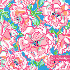 """New Lilly Pulitzer LITTLE LEANDRA DRESS 6 / 8 """"Flutter Blue Lucky Charm"""" BEES"""