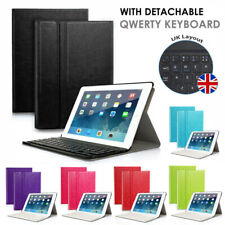 For Apple iPad 2 3 4 iPad Mini Leather Case Cover Stand ABS Bluetooth Keyboard