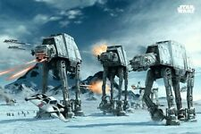 New Star Wars Episode V The Empire Strikes Back AT-AT Planet Hoth Poster