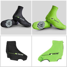 Bicycle Bike Windproof Shoe Covers Cycling Zippered Overshoes Sportwear HC