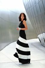 New WOMENS CELEBRITY SEXY SLEEVELESS BANDAGE BODYCON EVENING COCKTAIL LONG DRESS