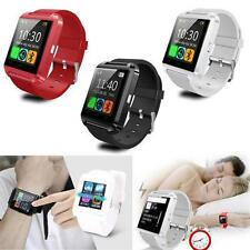 WF U8 Bluetooth Smart Wrist Watch Phone Mate Android Samsung Phone