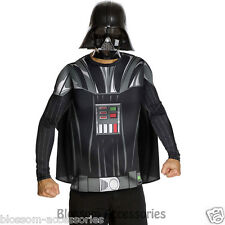 CL318 Star Wars Darth Vader Top Mask Adult Mens Fancy Dress Up Party Costume