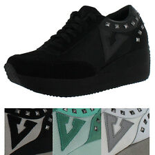 Volatile Cody Women's Platform Wedge Sneakers Shoes