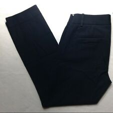 NWT J. CREW PETITE MINNIE PANT STRETCH TWILL #24645 BLACK CROPPED PANTS NEW