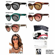 NEW Electric Visual Potion Womens Cat Eye Sunglasses Msrp$110