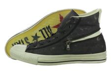 Converse John Varvatos Chuck Taylor CT Zip Hi Black/Turtledove New!