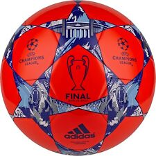adidas Capitano FINALE UCL BERLIN 2015 Soccer BALL Red / Royal Blue New