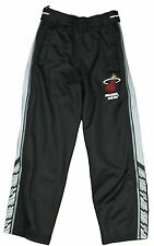 Zipway NBA Basketball Youth Miami Heat Zig Zag Tear-Away Track Pants, Black