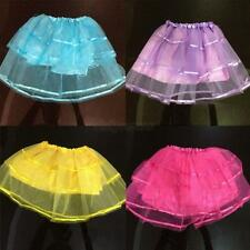 Sweet Girl Kids Translucent Princess Party Ballet Dance Dress Tulle Tutu Skirt