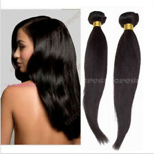 100% Brazilian Virgin Human Hair Straight Weaving Weft Extensions 1 Bundle/50g
