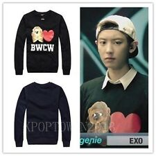 KPOP NEW EXO KRIS LUHAN TAO KAI LAY GROWL XOXO WOLF BWCW SWEATER SHIRT