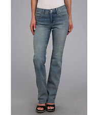 NWT NOT YOUR DAUGHTERS JEANS * MARILYN STRAIGHT LEG * FADED LIGHT to MEDIUM WASH