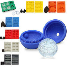 Star Wars Silicone Ice Cube Tray Mold Cookies Chocolate Soap Baking Mould DIY