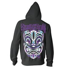 Women's Tiki by Jime Litwalk Steadfast Tattoo Hoodie Black Sweatshirt