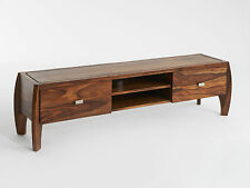 TV-Sideboard TV-Regal ROCKET Holz Massivholz Palisander Retro Shabby Low Board