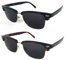 Clubmaster Wayfarer Horned Rim Men Women Sun Readers Reading Sunglasses  RE51