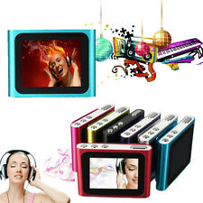 Hot 6th Gen 1.8in LCD Mp3 Mp4 FM Radio Games Movie Player Built-in Mic Clip On