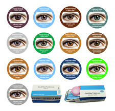 Fresh tone Vibrant colour contact lenses kontaktlinsen + contact lens case 1year