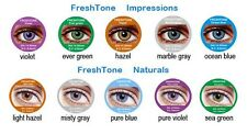 Fresh tone natural colour contact lenses Color kontaktlinsen + contact lens case