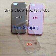 "Cover Skin CaseTransparent Gel For Apple iPhone 6 4.7""  TPU"