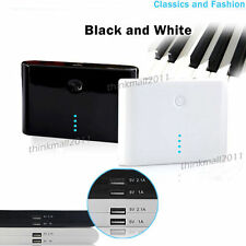 New 12000/20000/50000mAh Dual USB Portable Power Bank Charger For iPhone 6 5S 5