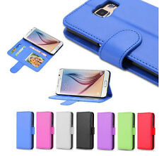 Color PU leather Photo Frame Wallet Stand Flip Protective Cover Case For Phones