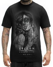 Sullen Clothing Soulful Art Mens T Shirt Black Tattoo Tee Big Gus