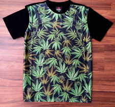 KONFLIC WEED CULTURE T SHIRT SUBLIMATED SMOKE OUT BLUNT URBAN MENS POT 420  WEAR